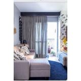 comprar cortinas com trilho no Campo Limpo