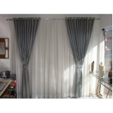 cortina com argolas preço em Perdizes