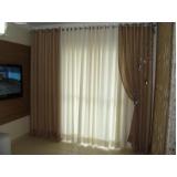 cortina em linho