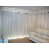cortinas em varão