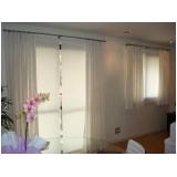 cortina em linho no Brooklin