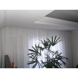 cortina embutida em sanca de gesso Campo Grande