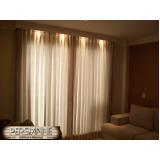 cortina embutida em sanca feito sob medida Itaim Bibi