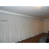 cortina para cortineiro de gesso na Freguesia do Ó