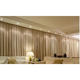 cortina para cortineiro preço em Moema