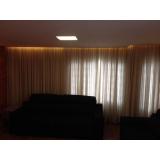cortina sala com sanca feito sob medida Aeroporto