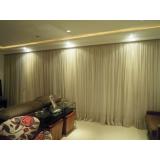 cortina para sanca de gesso