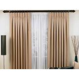 cortinas em linho para sala em Interlagos