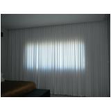 cortinas em voil no Pacaembu