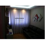 cortinas embutida em sanca de gesso Jardins