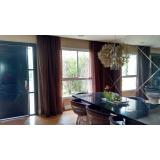lavagem de cortinas grandes preço Brooklin
