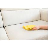 limpeza de estofados a seco preço Santos