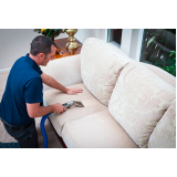 limpeza de sofá de linho Jardim América