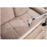 limpeza em sofá valor Jabaquara